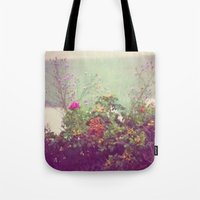 cape cod Tote Bags featuring Cape Cod by Antha P