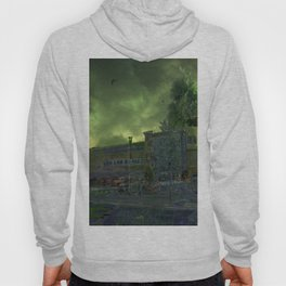 Post Apocalyptic Royton NHS Doctors Building Hoody
