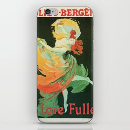 La Loie Fuller iPhone Skin