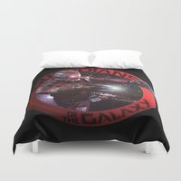 starlord Duvet Covers featuring StarLord - Guardians of the Galaxy by Leamartes