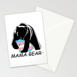 Mama Bear Transgender Stationery Cards