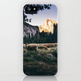 Yosemite Valley Buck iPhone Case