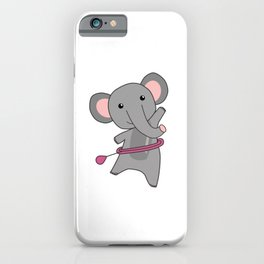 Elephants The Hullern Smart Hoop Elephant iPhone Case