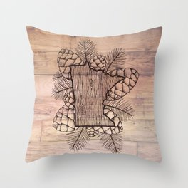 Minnesota Outdoors Throw Pillow