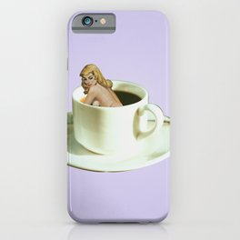 Her Name is Jo :) - lavender iPhone Case