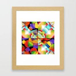 Prismatic Rainbow Framed Art Print