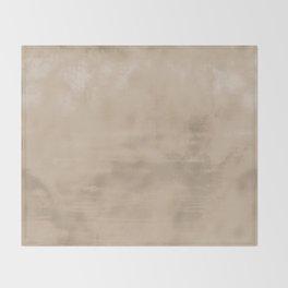 Burst of Color Pantone Hazelnut Abstract Watercolor Blend Throw Blanket