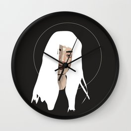 Woman as Element - Earth Wall Clock