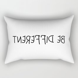 Be Different Rectangular Pillow