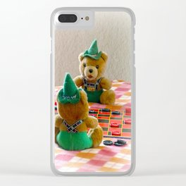 Hans and Yodel Clear iPhone Case
