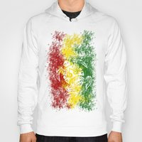 rasta Hoodies featuring Rasta Honu by Lonica Photography & Poly Designs