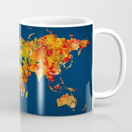 World Map 41 Coffee Mug