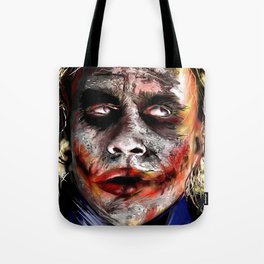 The Joker Painted Tote Bag