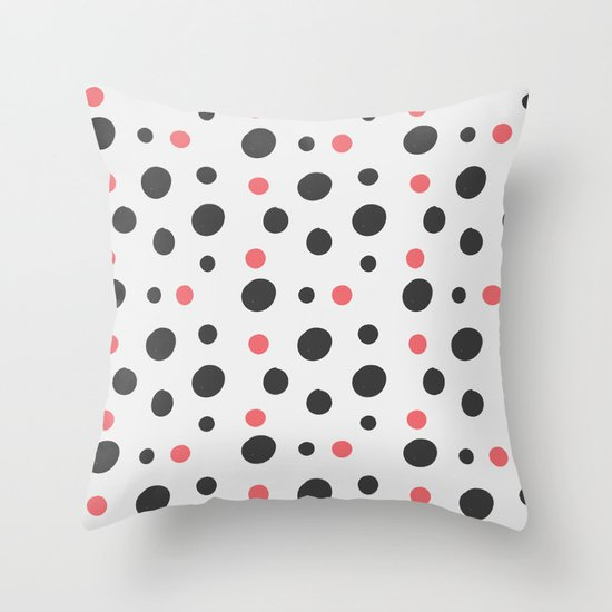 Circle Design Throw Pillows : Hipster Circle Pattern Throw Pillow by Selena Design Society6