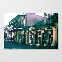 Bourbon Street. Canvas Print
