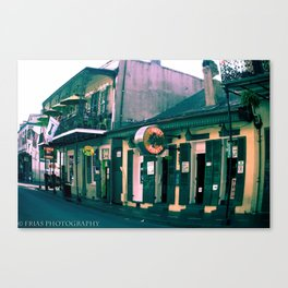 Bourbon Street. Canvas Print