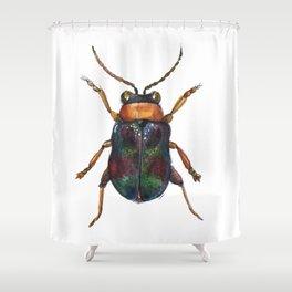 Beetle Shower Curtain