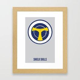 Taskmaster - Shield Skills Framed Art Print