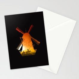 Fighting Giants (dark version) Stationery Cards