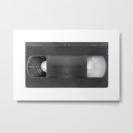 Vintage video cassete Metal Print