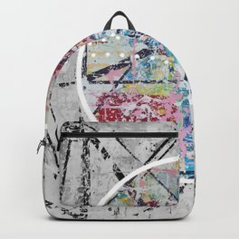 Crossroads No.3 - black and white Backpack