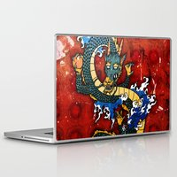 dragon Laptop & iPad Skins featuring Dragon by Spooky Dooky