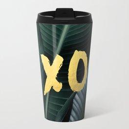 XO gold - banana leaf Travel Mug