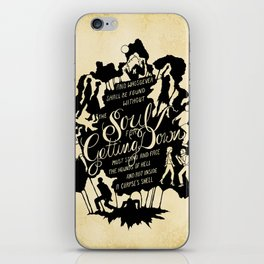 Thriller iPhone Skin