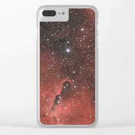 The Elephant Trunk Nebula Clear iPhone Case
