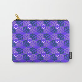 Pixelated pattern Carry-All Pouch