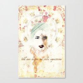 """""""nihil curo de ista tua stulta superstitione"""" Canvas Print"""