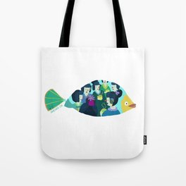 Geishas at sea Tote Bag