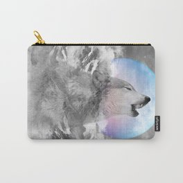 Maybe the Wolf Is In Love with the Moon Carry-All Pouch