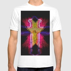 CHRIST White Mens Fitted Tee MEDIUM