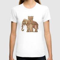 bastille T-shirts featuring Elephant Bastille by Bluepress