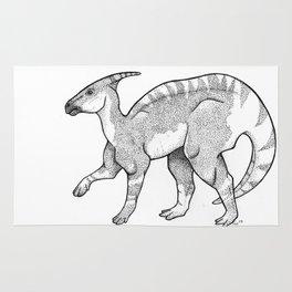 Parasaurolophus Rug