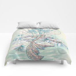 Anais Nin Mermaid [vintage inspired] Art Print Comforters