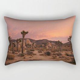 Joshua Tree Sunset Rectangular Pillow