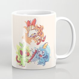 Galar Starters Light Coffee Mug