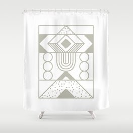 Super Sense No. 15 Shower Curtain