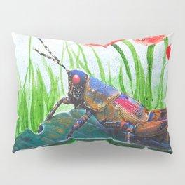 Gilded Hopper Pillow Sham