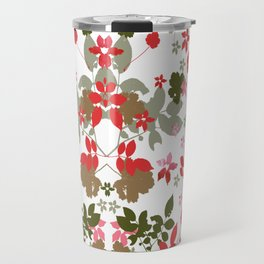 red leaves Travel Mug