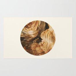Abstract Wood Design Rug