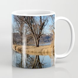 Reflection On The Mississippi River Coffee Mug