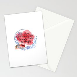 kind and polite Stationery Cards