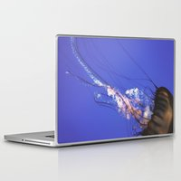 jelly fish Laptop & iPad Skins featuring Jelly Fish  by N A N A M I