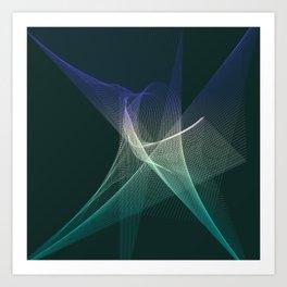 Star Chaos Art Print