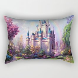 FAIRY FANTASY CASTLE Rectangular Pillow