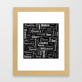 Just Dance! Framed Art Print
