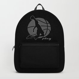 Basketball Player (monochrome) Backpack